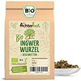 Ingwerwurzel Tee BIO (250g)   Ingwertee   Bio-Ingwer getrocknet geschnitten vom Achterhof