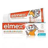 Elmex Kinder-Zahnpasta, 1 x 50 ml - Zahncreme für Kinder von 2-6 Jahren mit mildem Geschmack, der besondere Kariesschutz für Milchzähne