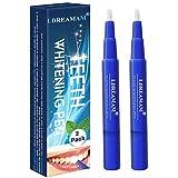 Zahnaufhellung Gel,Zahnaufhellung Stift,Zahnaufhellung Set,Zähne Bleichen & Natürlich Aufhellen, Aufhellungsbehandlungen, effektiv, Flecken entfernen 2PC